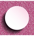 Pink circle Sequin background Eps 10 vector image