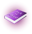back to school book vector image