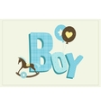 boy card vector image