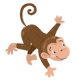 Little funny monkey vector image