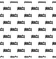 Stick man pattern seamless vector image