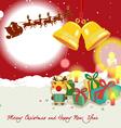 Christmas border - vector image