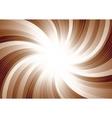 vector swirl background vector image