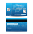 credit card concept vector image vector image