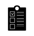 clipboard check icon sign o vector image