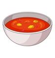 Tom yum thai soup icon cartoon style vector image
