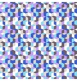 Pattern with cubes in random colors vector image