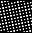 seamless pattern slanting grid in black and white vector image