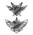 Shields vector image