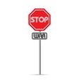 stop war signs vector image