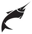Sword fish icon vector image