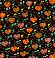 heart panel design vector image