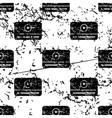 Mediaplayer window pattern grunge monochrome vector image