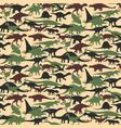 Dinosaurs set vector image