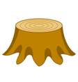 Stump vector image