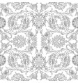 arabesque vintage decor floral ornate pattern for vector image