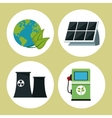 collection environment clean energy vector image