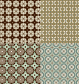 seamless background patterns vector image
