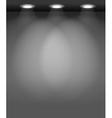 Spotlit Wall vector image