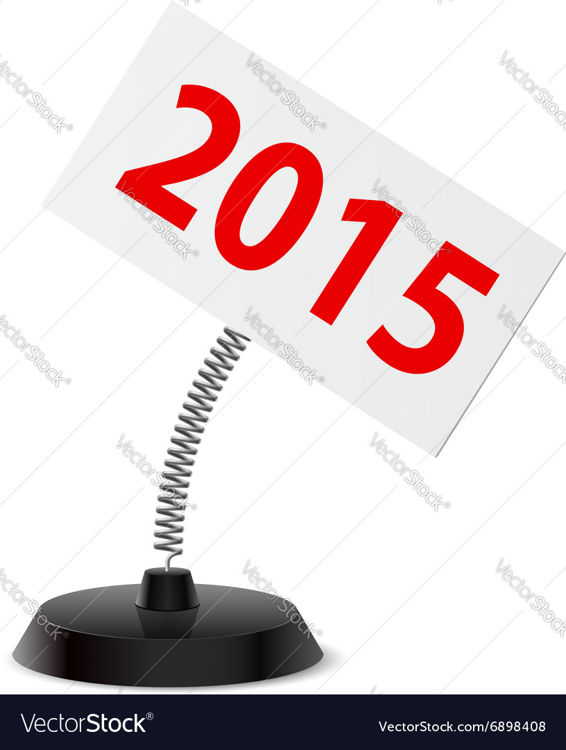 New year souvenir vector