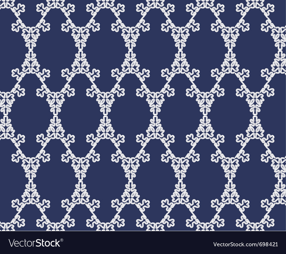 Lace christmas background vector