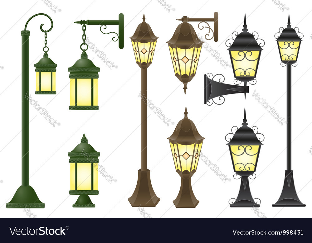 Streetlight 04 vector