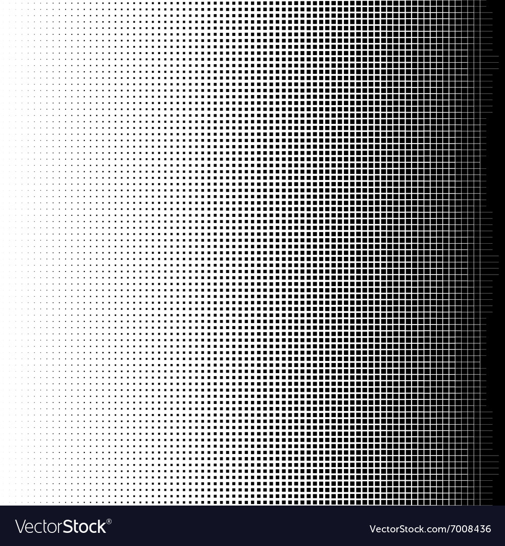 Halftone squares vector