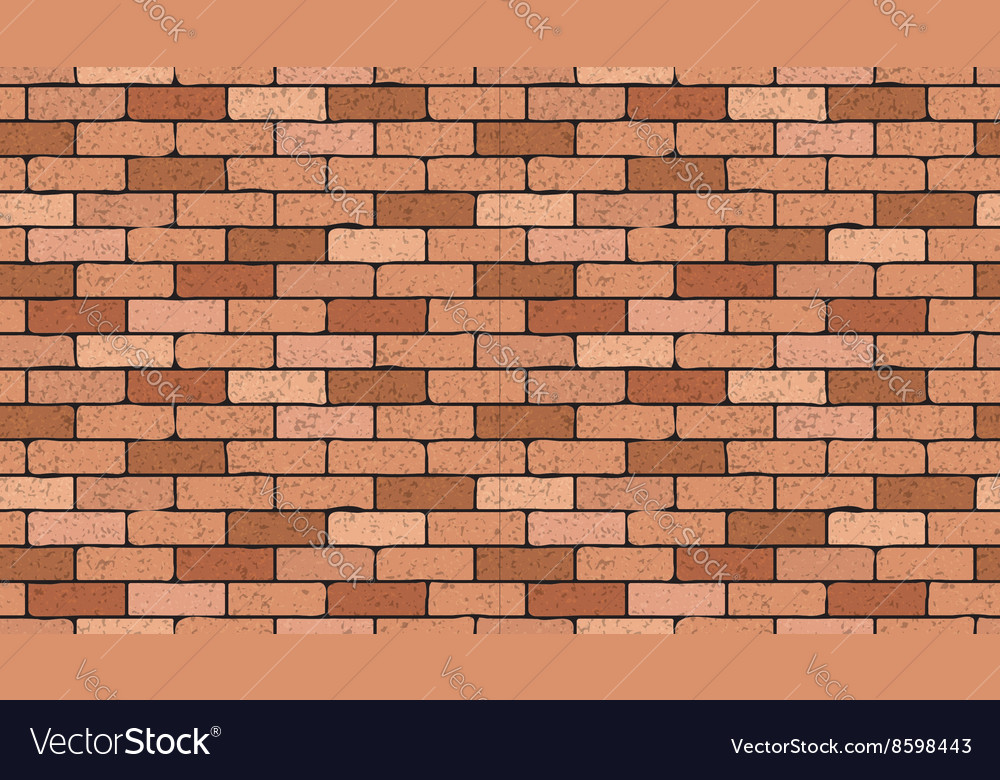Bricks seamless texture vector