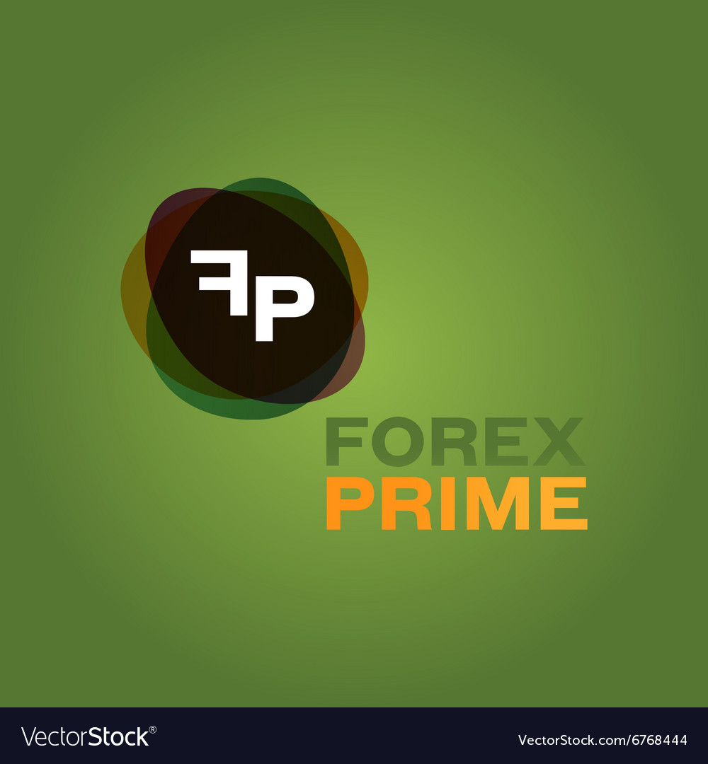 Abstract forex icon companies vector
