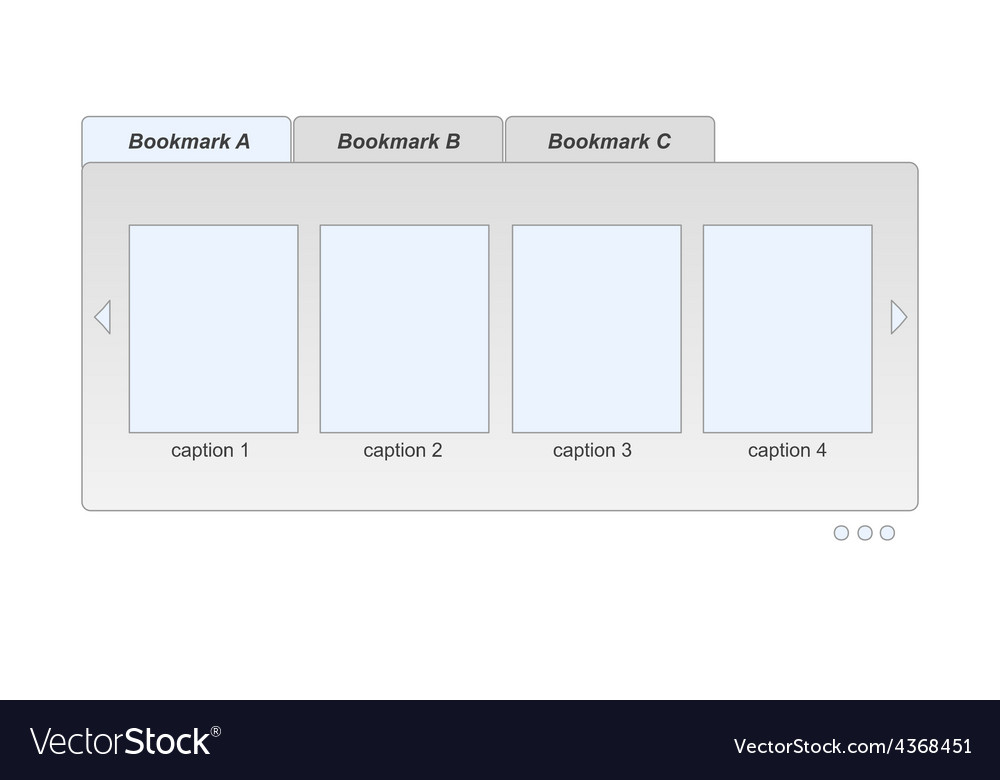 Bookmarks vector