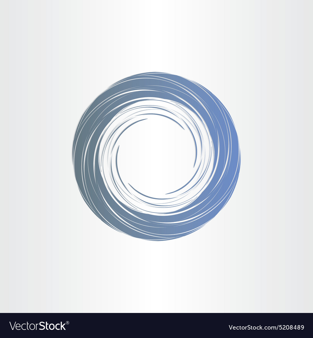 Dark blue tornado abstract background vector