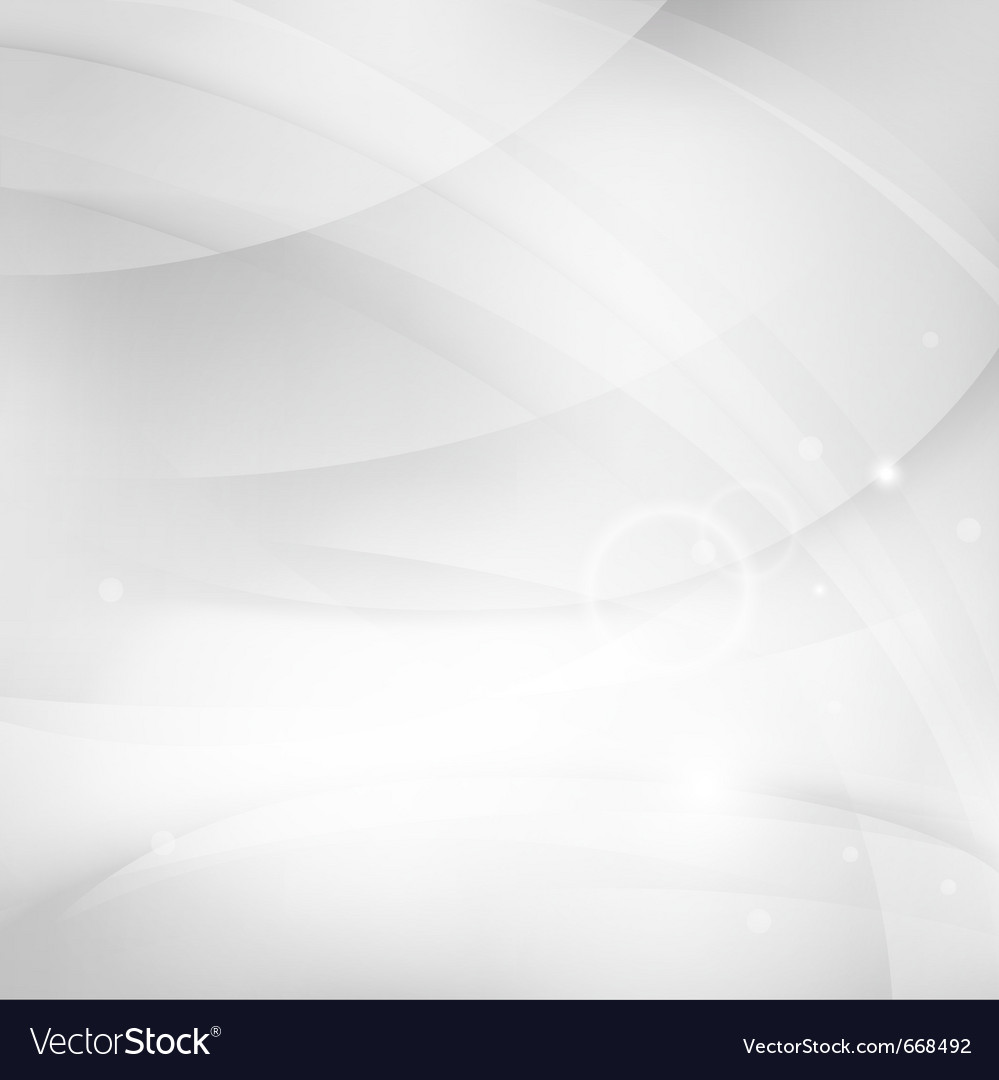 Modern white abstract background vector