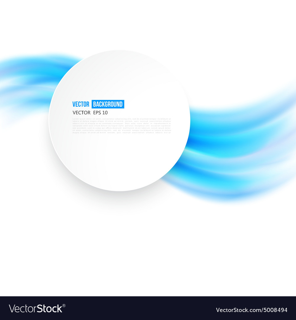 Abstract background design wavy vector