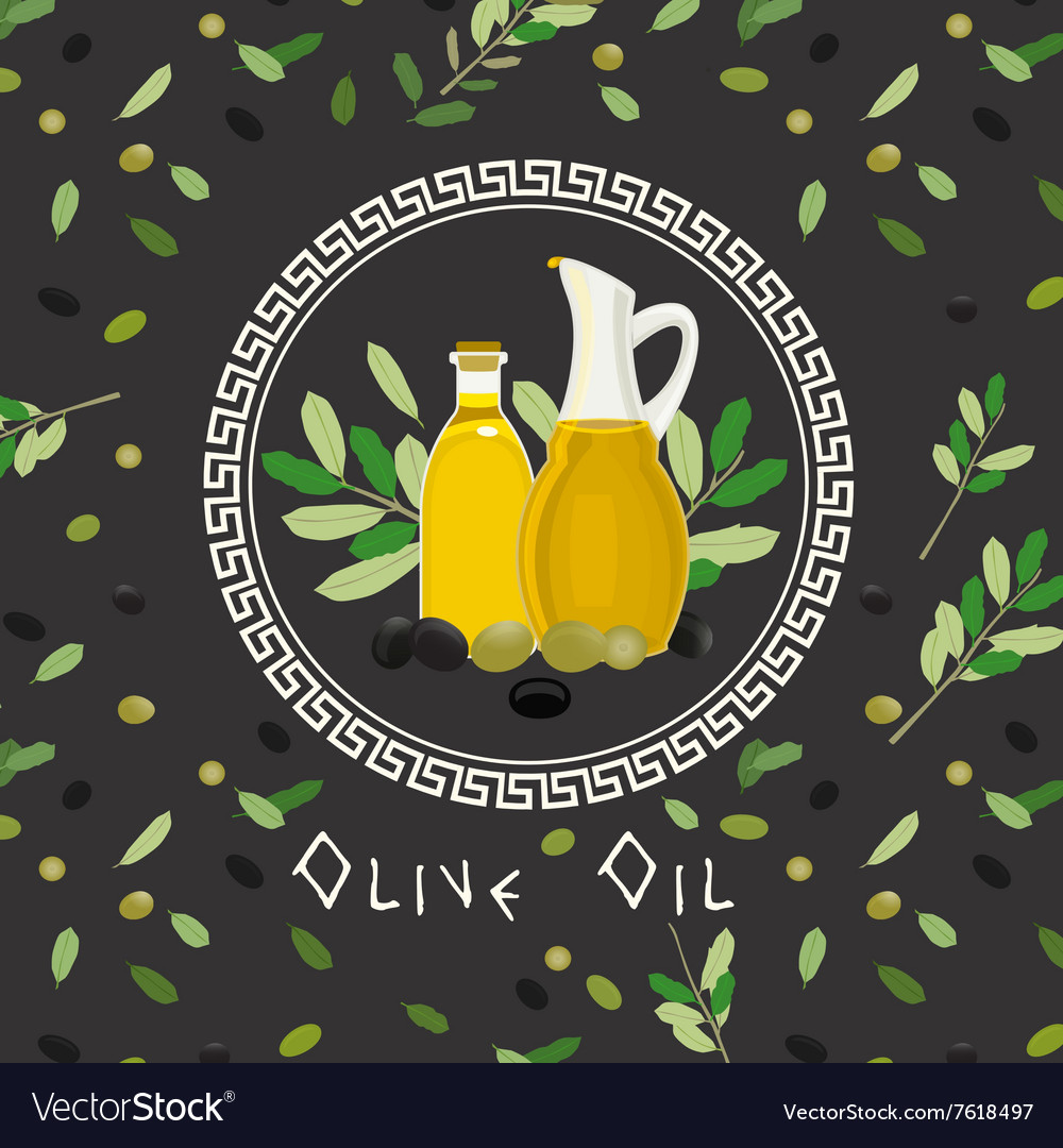 Greek cuisine vector