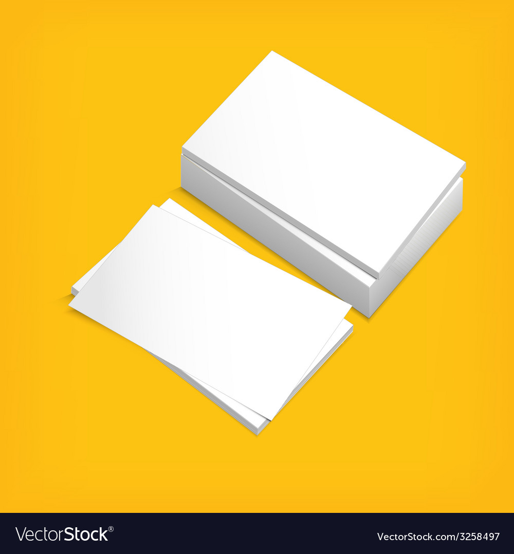 Stack of white paper vector