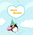 Birthday Message vector image