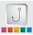 Fishhook icon vector image