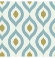 Geometric retro ikat tribal seamless pattern vector image