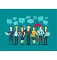 Business group people company teamwork vector image vector image