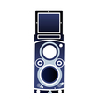 A speaker is placed vector image