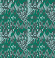 Colored seamless ethnic print pattern abstract vector image
