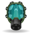 gas mask 09 vector image