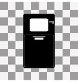ATM icon on a transparent vector image