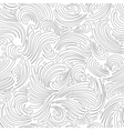 Seamless silver background vector image vector image