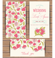 Greeting card templates vector image