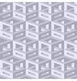 Isometric seamless background vector image