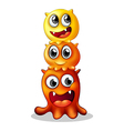 Monster Family vector image vector image