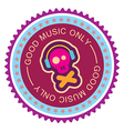good music only vector image