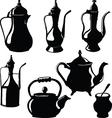Cookware Teapots vector image