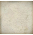 Vintage crumpled old paper textured background vector image